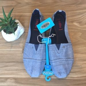 NEW Canvas Slip-On Shoes, Flats Loafers Sneakers